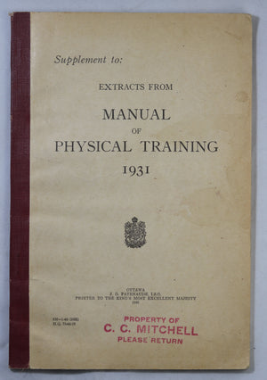 WW2 Canadian Army physical training manual
