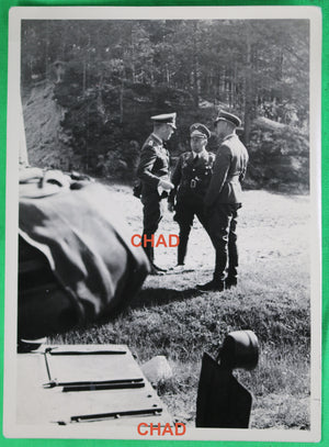 WW2  Guerre 39-45 photo three German Luftwaffe officers