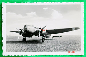 WW2 Propaganda photo German Henschel Hs 124 on grass