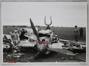 WW2 photo Russian plane wreck, June 1941 @ Minsk Russia