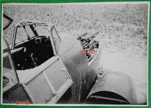 WW2 photo of German JU 87 Stuka cockpit