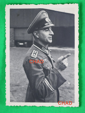 WW2 photo of German Wehrmacht non-commissioned officer (NCO)