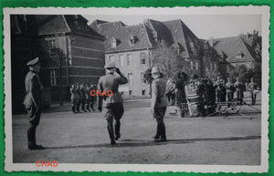 WW2 photo postcard of German Wehrmacht ceremony 1944