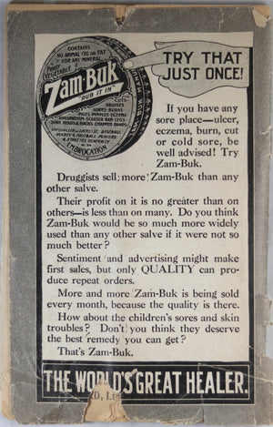 Zam-Buk 'Good Things and How to Cook them...' c. 1910's