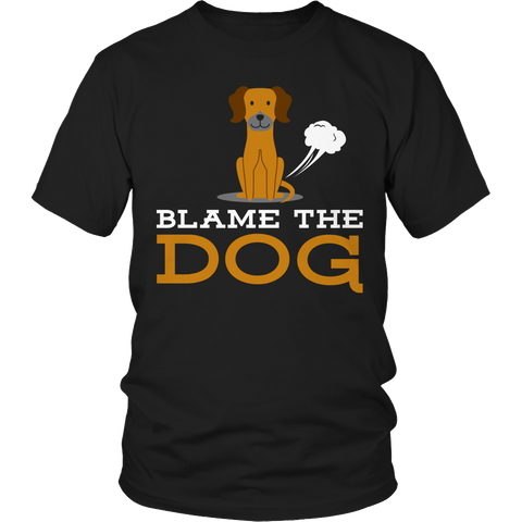 Funny T-Shirt - Blame The Dog
