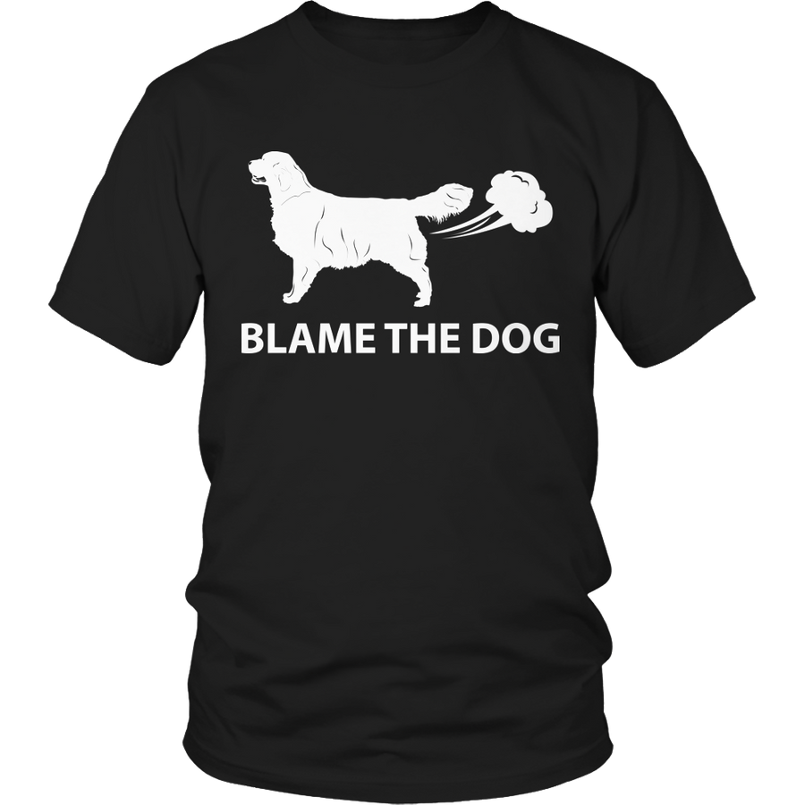 Funny Dog Lover T-Shirt - Blame The Dog Shirt/Hoodie #1