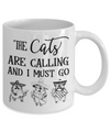 Funny Cat Lover Coffee Mugs