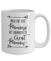 Only The Best Mamaws Get Promoted to Great Mamaw Coffee Mug Tea Cup
