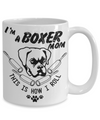 coffee mug for a boxer lover