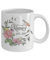 Meme Grandmother to Be Custom Personalized Coffee Mug | Customizable/Personalizable Gifts