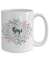 grandma nickname custom personalized coffee mug