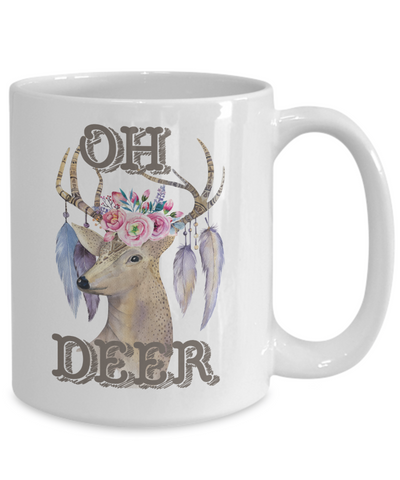 deer lover coffee mug