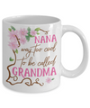 Personalized Grandma Tea Cup