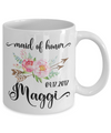 Maid of Honor Custom Coffee Mug | Personalized/Personalizable Gifts for Maid of Honor 11oz