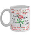 To my Wife Love Coffee Mug 11oz