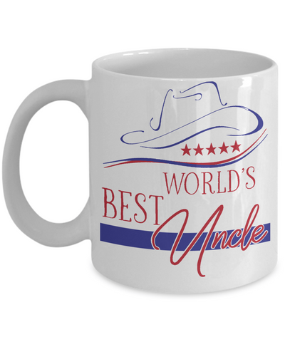 World's Best Uncle Coffee Mug | Gift Idea for Uncles | Tea Cup 11oz