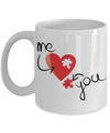 Me - You Love Coffee Mug