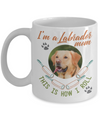 Labrador Mom Funny Coffee Mug