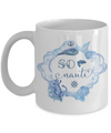 So Nauti Coffee Mug | Nautical Gifts | Sea/Lake Lover Gift Idea 11oz