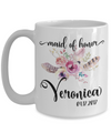 Maid of Honor Custom Coffee Mug | Personalized/Personalizable Gifts for Maid of Honor 15oz