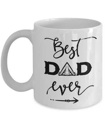 Best Dad Ever Coffee Mug Tea Cup Father's Day Gift Idea