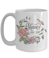 Meme Grandmother to Be Custom Personalized Coffee Mug | Customizable/Personalizable Gifts 15oz