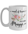 Maid of Honor Custom Coffee Mug | Personalized/Personalizable Gifts 15oz