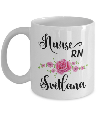 Custom Nurse Coffee Mug