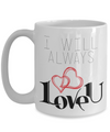 valentine's day coffee mug