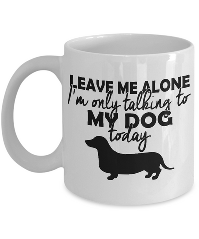 Dachshund Coffee Mug | Tea Cup | Doxie Lover/Owner Gift Idea