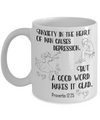 Proverbs 12:25 Coffee Mug 11oz