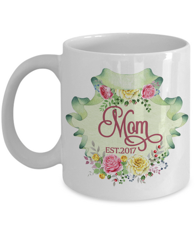 New Mom Coffee Mug | Gift Idea for a Mom to Be 11oz
