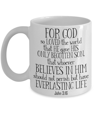 John 3:16 Coffee Mug | Tea Cup