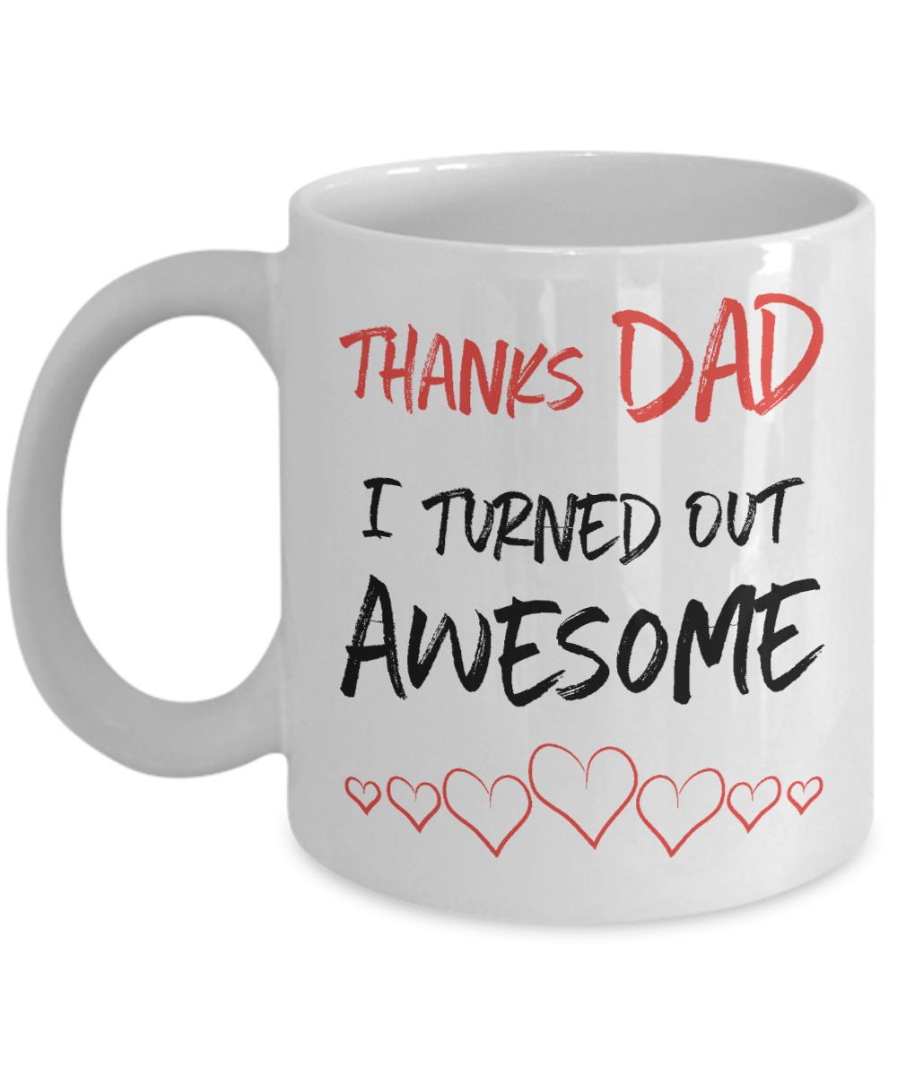 Funny Dad Coffee Mug | Tea Cup | Father's Day Gift Idea