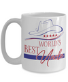 World's Best Uncle Coffee Mug | Gift Idea for Uncles | Tea Cup 15oz