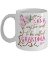 Personalized Grandma Coffee Mug
