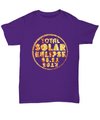 Total Solar Eclipse August 21 2017 T-Shirt