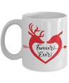 Love Forever and Ever Deer Coffee Mug