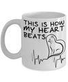 Cat Heartbeat Coffee Mug | Tea Cup | Cat Lover/Owner Gift Idea
