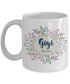 Gigi Grandmother Personalized Custom Coffee Mug | Customizable/Personalizable Gifts