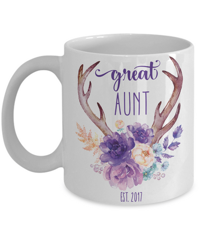 Custom Great Aunt Coffee Mug