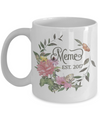 Meme Grandmother to Be Custom Personalized Coffee Mug | Customizable/Personalizable Gifts 11oz