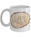 Woodworker Monogram Personalized Coffee Mug | Tea Cup | Gift Idea 11oz