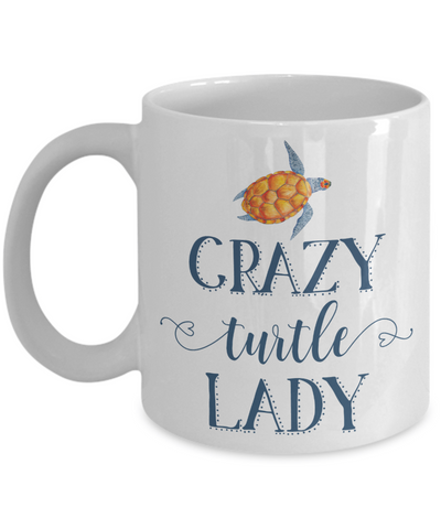 Crazy Turtle Lady Coffee Mug