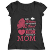 Funny 'All Women Are Created Equal But The Finest Become A Mom' Tee/Hoodie Women
