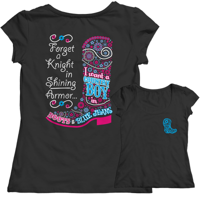 Limited Edition - Forget A Knight In Shining Armor...