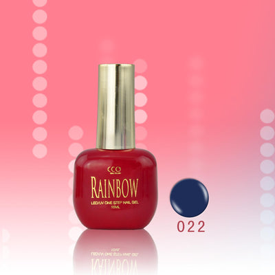Rainbow One Step Gel Nail Polish (15 colors)