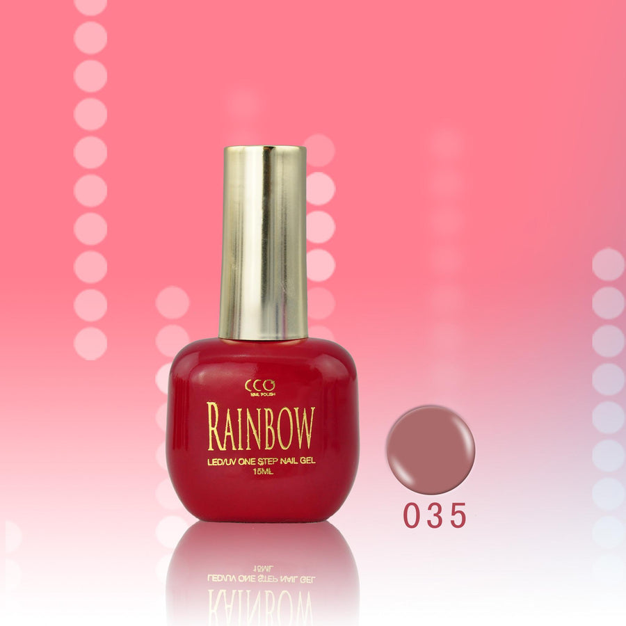 One Step Gel Nail Polish Rainbow (15 colors)