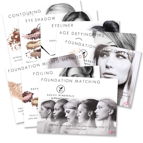 Savvy Minerals Cue Cards