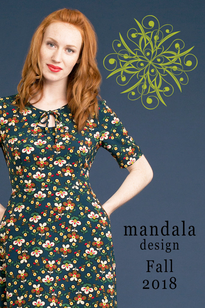 Mandala Design ~ 2018 Fall/Winter Collection